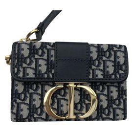 Dior-Dior Box bag 30 Montaigne-Black,Golden,Dark blue