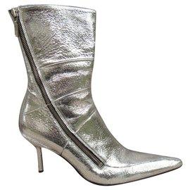 Free Lance-Free Lance p metallic ankle boots 37-Metallic