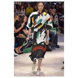 Céline-SS14 Knit Skirt-Black
