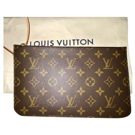 Louis Vuitton-Pochette monogramme Neverfull GM-Marron