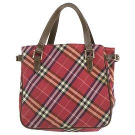 Burberry-Burberry handbag-Red