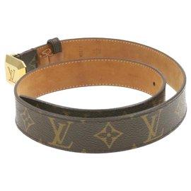 Louis Vuitton-Louis Vuitton Belt-Brown