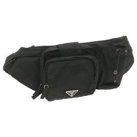 Prada-Prada Clutch Bag-Black