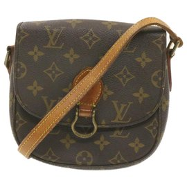 Louis Vuitton-Louis Vuitton Saint Cloud-Marron