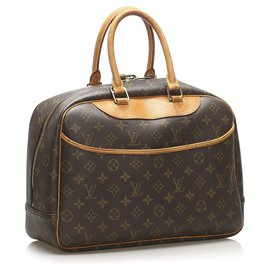 Louis Vuitton-Louis Vuitton Monogramme Marron Deauville-Marron