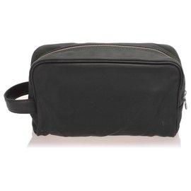 Louis Vuitton-Louis Vuitton Black Taiga Palana Pouch-Black