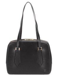 Louis Vuitton-Louis Vuitton Black Epi Voltaire-Black
