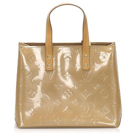Louis Vuitton-Louis Vuitton Brown Vernis Reade PM-Brown