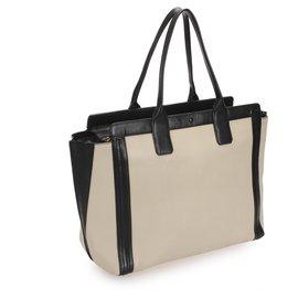 Chloé-Chloe Brown Allison Leather Tote Bag-Brown,Black,Beige