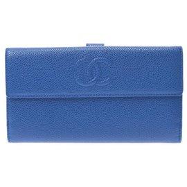 Chanel-Chanel wallet-Blue