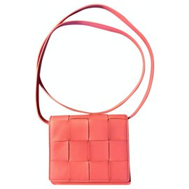 Bottega Veneta-Bottega Veneta Cassette Bag-Pink