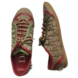 Dior-Trotter Rasta Trainers-Multiple colors