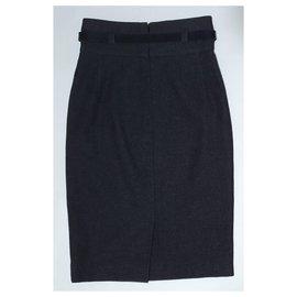 Burberry-Skirts-Grey
