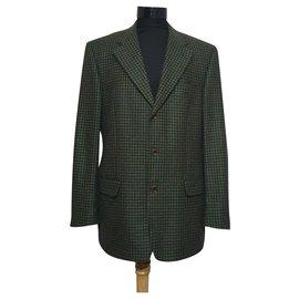 Ermenegildo Zegna-Blazers Jackets-Multiple colors,Green