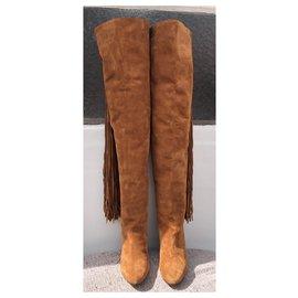 Chloé-Boots-Light brown