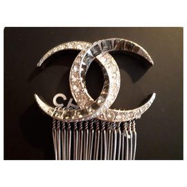 Chanel-Hair accessories-Silver hardware