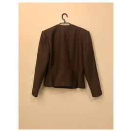 Emmanuelle Khanh-Couture jacket Emmanuelle Khanh-Chocolate