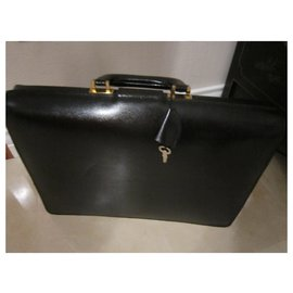 Lancel-Bags Briefcases-Black