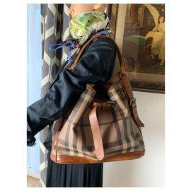 Burberry-Burberry bag-Brown