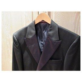 Autre Marque-Matinique black wool blazer / jacket-Black