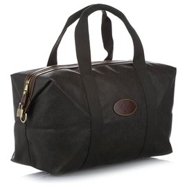 Mulberry-Mulberry Green Leather Boston Bag-Green