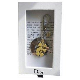 Dior-rare porte-clés DIOR ,Nouveau avec les étiquettes-Bijouterie argentée