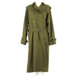 Burberry-Coat-Khaki