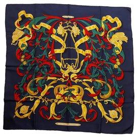 Hermès-The Mors A La Conétable-Navy blue