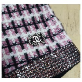 Chanel-Chanel Cashmere Shorts Sz 34-Multiple colors