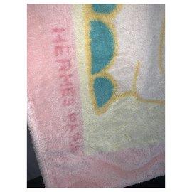 Hermès-Hippopotamus bath towel-Multiple colors