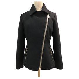 Moncler-Veste zippee Montcler-Noir