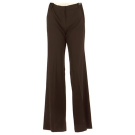 Chloé-Trousers-Brown