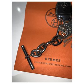 Hermès-Chain of Anchor-Silver hardware