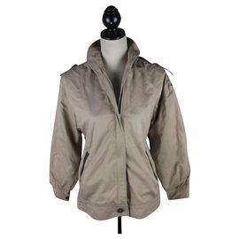 Burberry-Vintage Burberry jacket-Beige