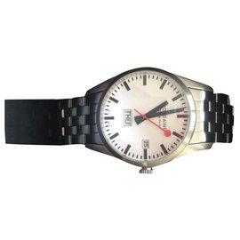 Autre Marque-Mondaine watch-Silver hardware