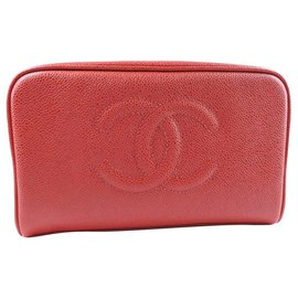 Chanel-Chanel clutch-Red