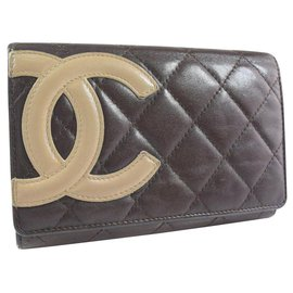 Chanel-Chanel wallet-Brown