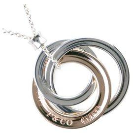 Tiffany & Co-TIFFANY & CO. Cercles imbriqués-Argenté