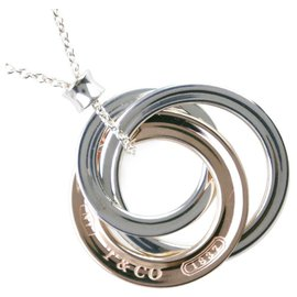 Tiffany & Co-TIFFANY & CO. Interlocking Circles-Silvery