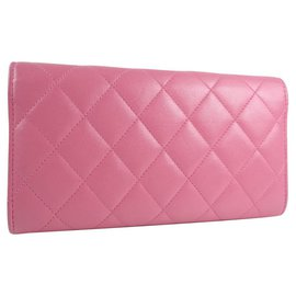 Chanel-Chanel wallet-Pink