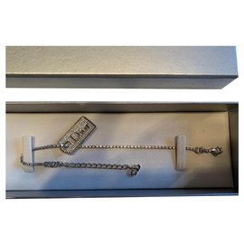 Dior-Bracelet souple Dior-Argenté