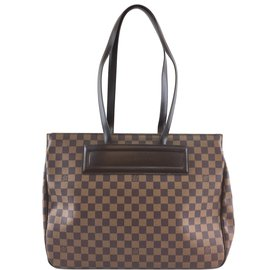 Louis Vuitton-Louis Vuitton Parioli GM Damier Ébène Canvas-Brown