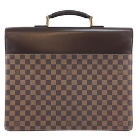 Louis Vuitton-Louis Vuitton Altona GM Damier Ébène Canvas-Brown