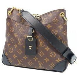 Louis Vuitton-Louis Vuitton OdeonNM Sac à bandoulière Femme M45353 noir x marron-Marron,Noir