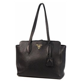 Prada-Prada shoulder bag Womens tote bag 1BG111 NERO( black)-Black,Other