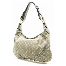 Louis Vuitton-LOUIS VUITTON Monogram Mini Run Manon-Grey