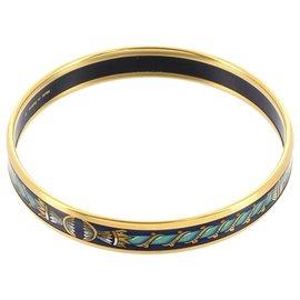 Hermès-Bracelet Hermès Cloisonné Bleu-Bleu,Multicolore,Bleu Marine