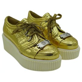 Chanel-Creepers-Golden