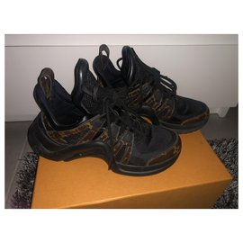 Louis Vuitton-Archlight-Brown,Black