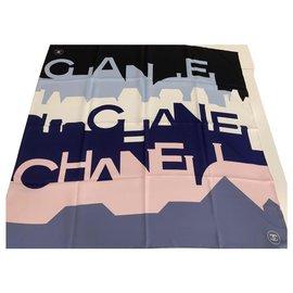 Chanel-SCARF CHANEL SILK-Other